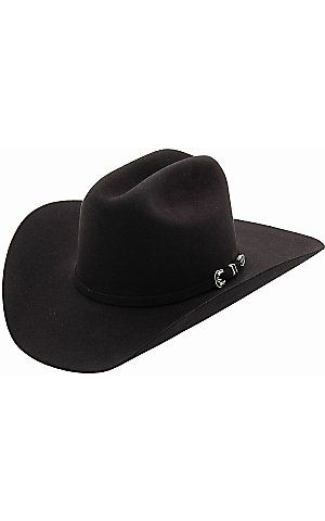 Stetson 6X Skyline Black Felt Cowboy Hat in 2019  245ca6c5256