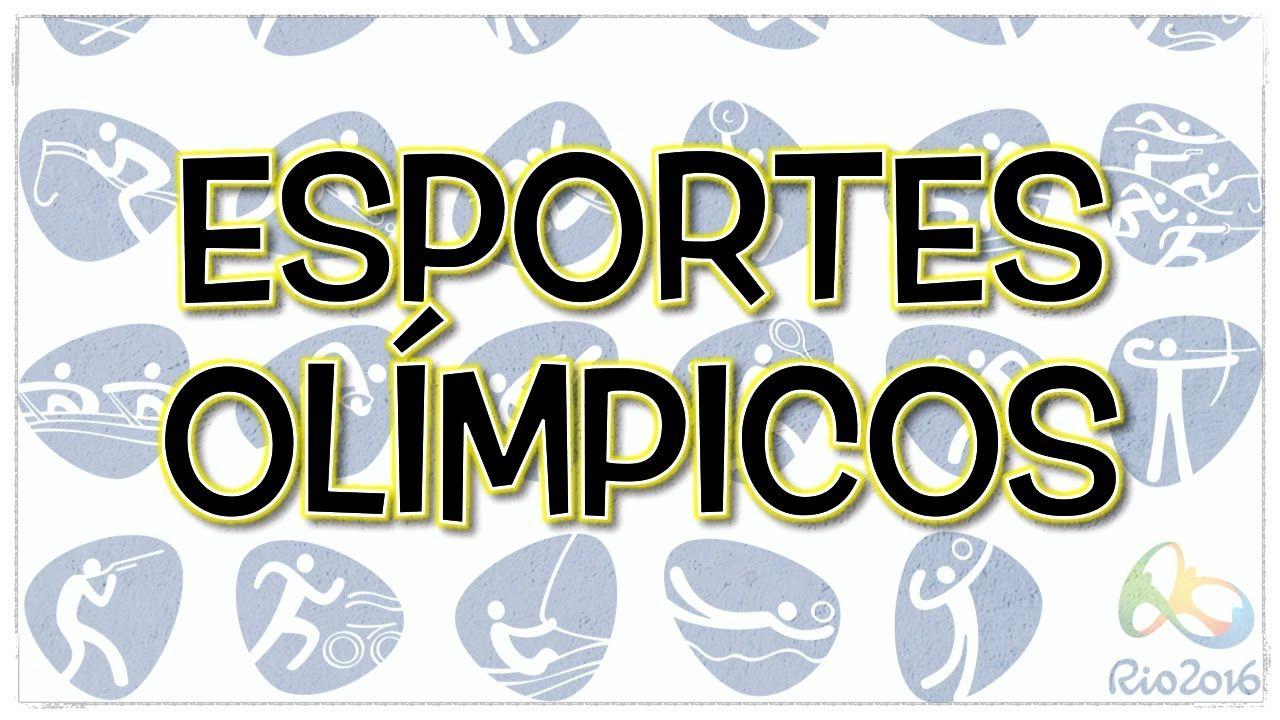 Jogos Olímpicos: a pronúncia de todos os esportes e provas (em inglês e ...