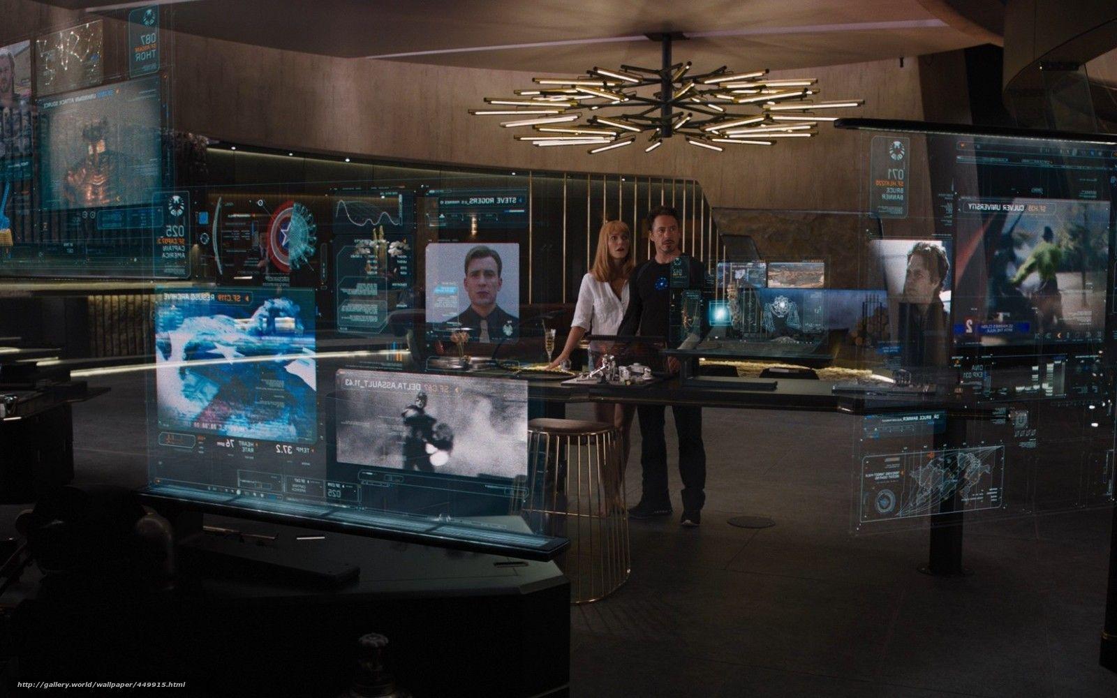 tony stark workspace | NVR Mercedes Readyroom | Avengers ...