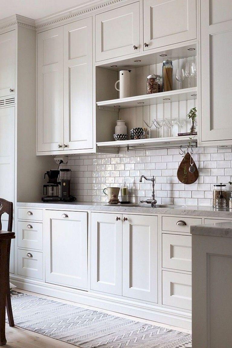 9+ Amazing White Kitchen Decor and Design Ideas kitchendesign ...