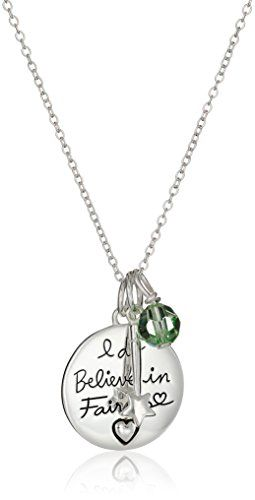 "Disney Sterling Silver Tinkerbell ""I Do Believe In Fairies"" Pendant Necklace, 16""2'' Extender Disney http://www.amazon.com/dp/B00U7AEAQS/ref=cm_sw_r_pi_dp_Sy7owb1RAFJT3"