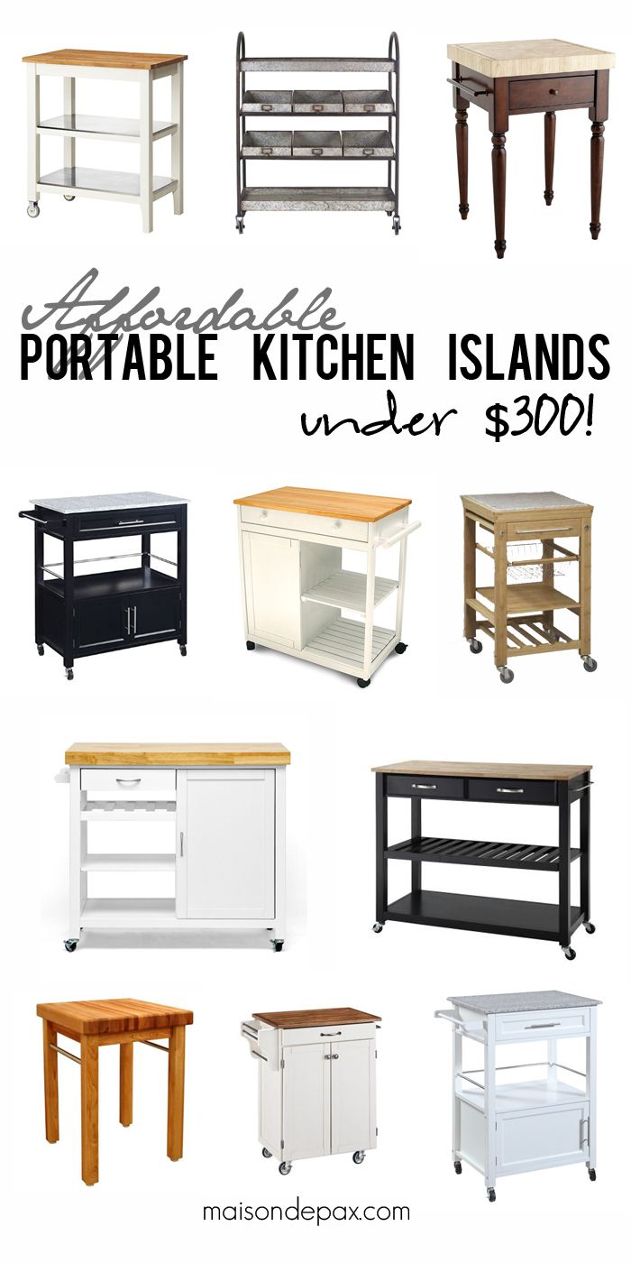 Where To Buy Affordable Kitchen Islands  Butcher Blocks Classy Affordable Kitchen Islands Inspiration