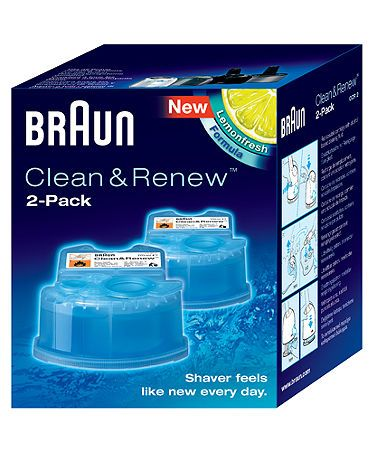 Braun Shave And Renew Refills A Few Boxes To Refill The Shaver To Keep It Hygienic Would Be Awesome Cleaning Braun Clean And Renew Shaver Shop