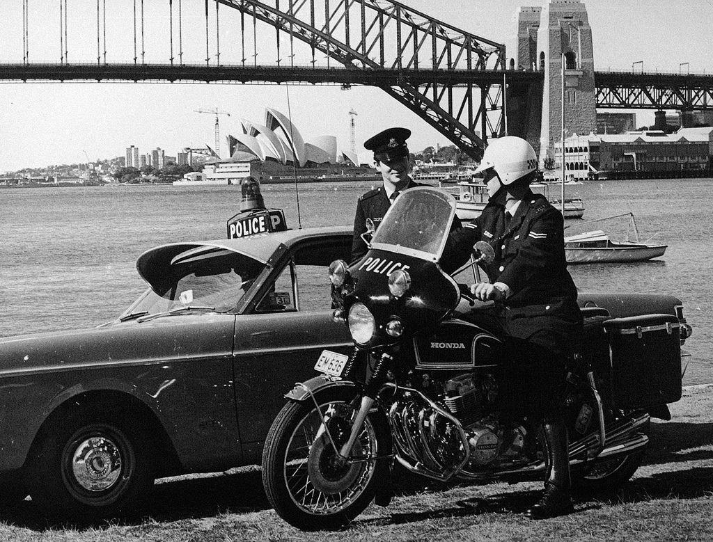 1960 Bike Car Oh7221 Honda Cb750 Police Cars Police