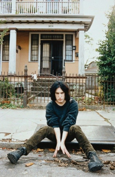 Trent reznor 1996 probably at his house the sharon tate for House music 1996