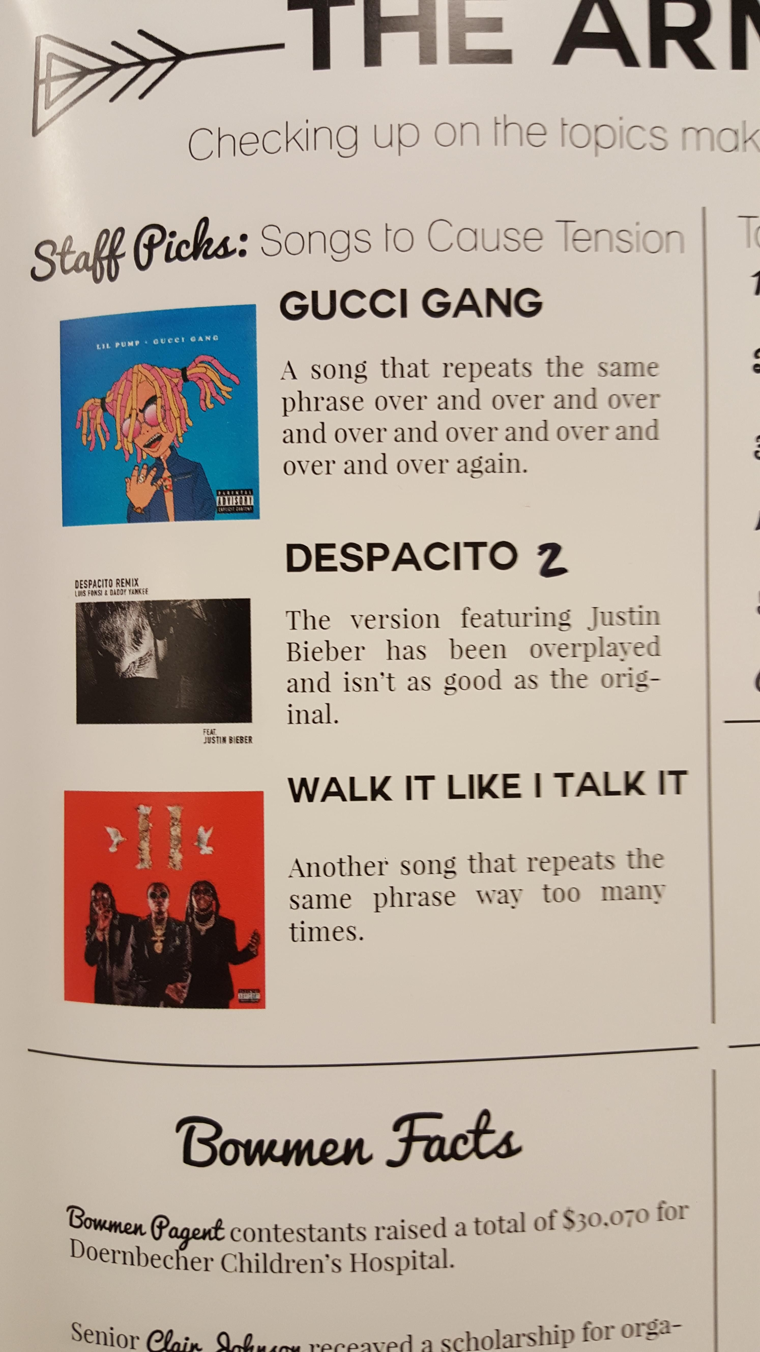 Saw This In The Weekly Magazine At My School