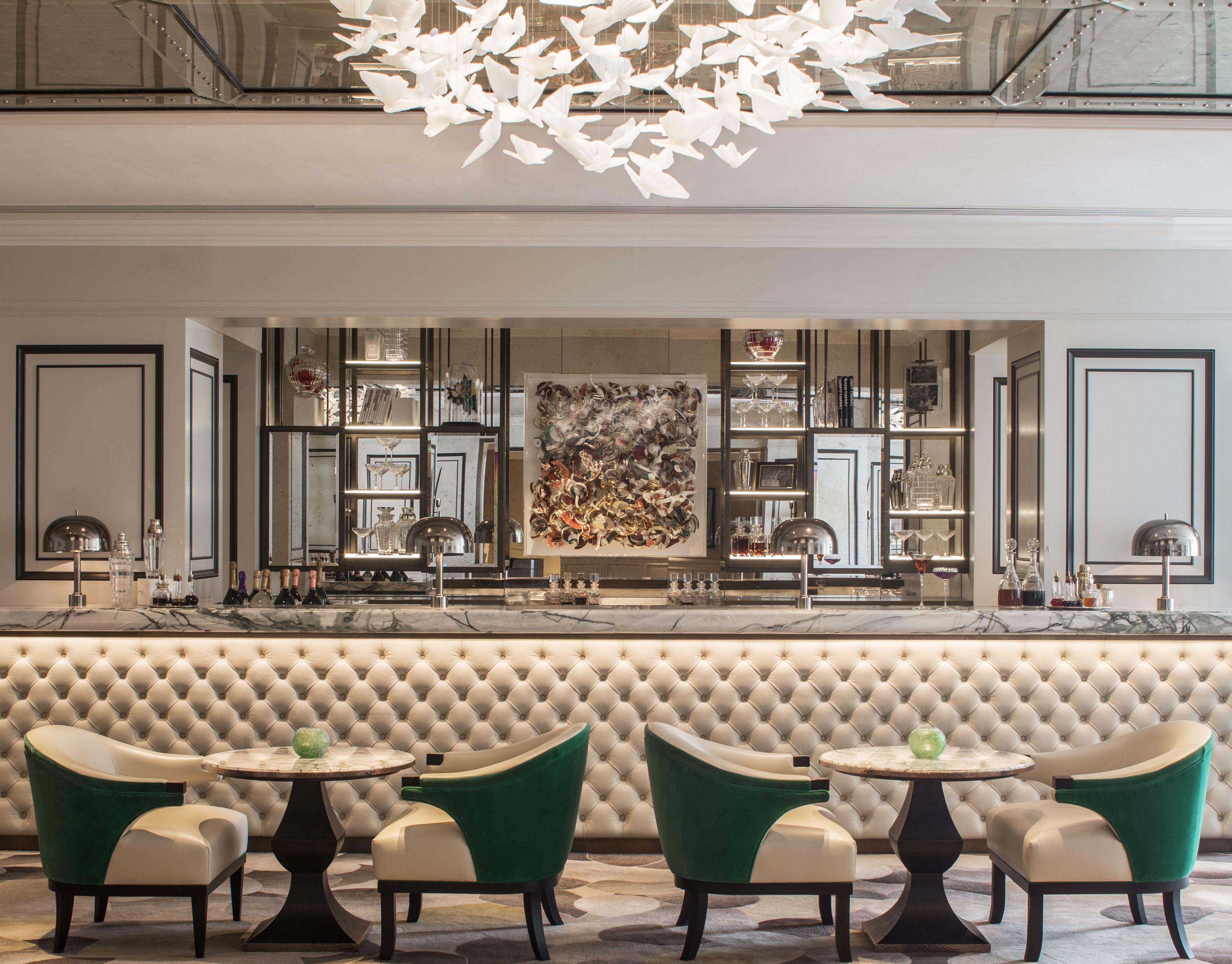 Grosvenor House By Hba Design Bar Interior Design Hotels Design Hotel Decor