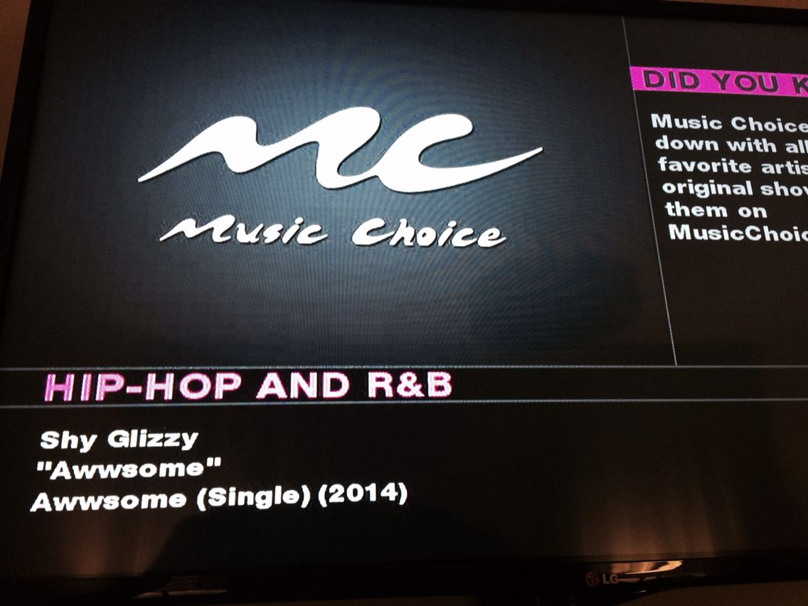 1st time I heard song on Cable music channel  Glizzy Gang #proudcousin