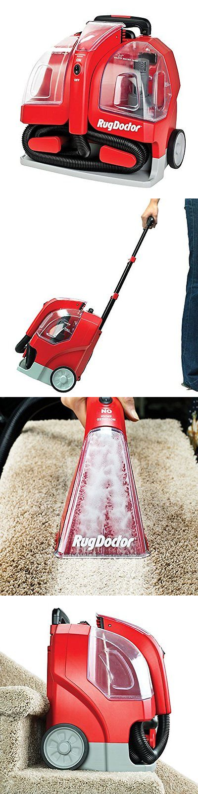 Carpet Shampooers 177746: Rug Doctor Home Kitchen Features Portable Spot  Cleaner Machine, Red Corded