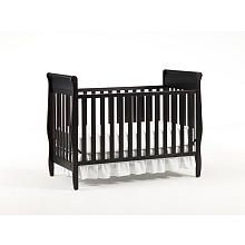 Graco Sarah Convertible Crib - Espresso - Simple and safe crib is all you need. If you're going to splurge go for a really nice mattress or wait and get a really nice twin bed later.