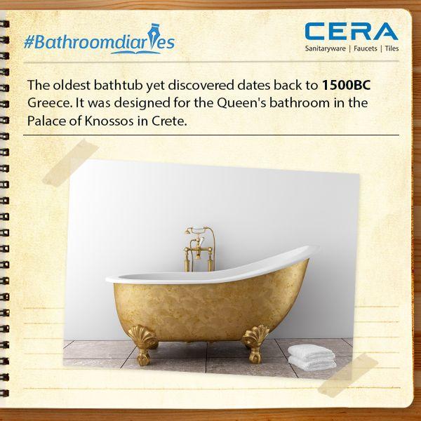 #AmazingFacts #BathroomDiaries #ReflectsMyStyle #CERA # ...