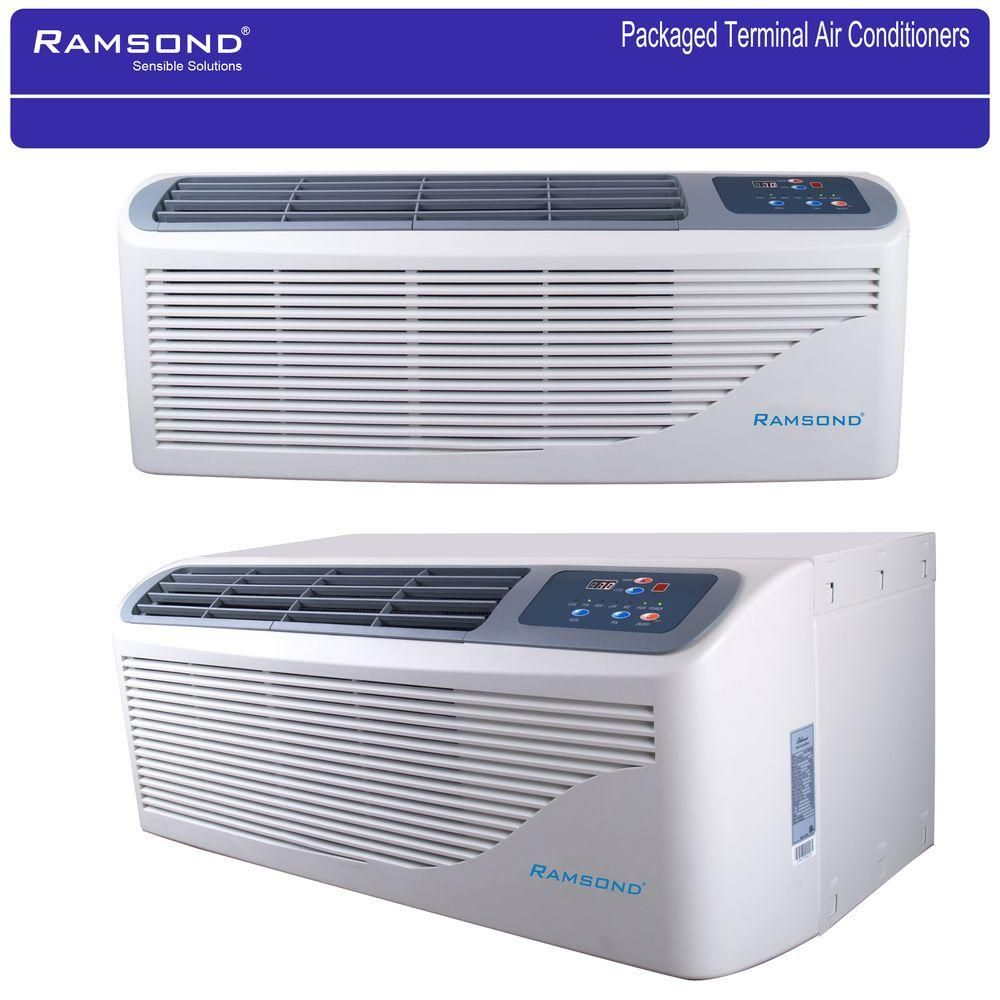 Ramsond Packaged Terminal Air Conditioning 15 000 Btu 1 25 Ton 5 Kw Electrical Heater Kcd 45 Ba The Home Depot In 2020 Air Conditioning Installation Air Conditioner Heater Air Conditioner