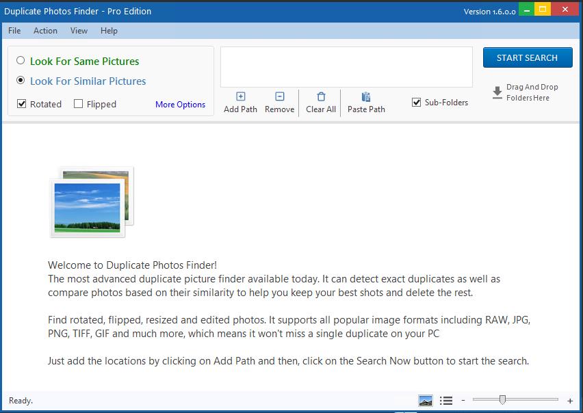 Got Duplicate Pictures? Ashisoft Duplicate Photo Finder Pro