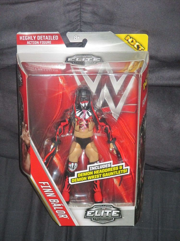 Demon Finn Balor Bálor Elite Wrestling Action Figure WWE NXT RAW Kid Child Toys