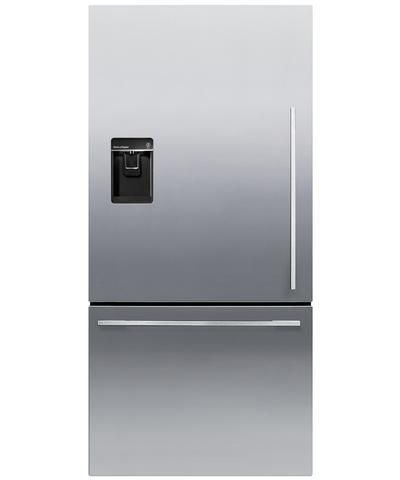 Rf170wdlux5 Fisher Paykel Activesmart Fridge 17 Cu Ft Counter Depth Bottom Freezer With Ice Wa Bottom Freezer Bottom Freezer Refrigerator Refrigerator