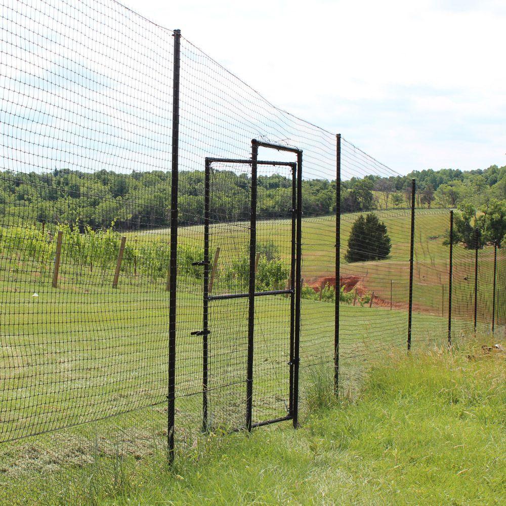 Access Gate For 8 Deer Fence Sleeved Installation Deer