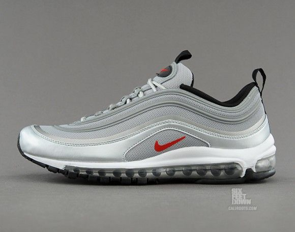 the best attitude 867c0 cd663 Nike Air Max 97 Tape Metallic Silver Detailed Pictures