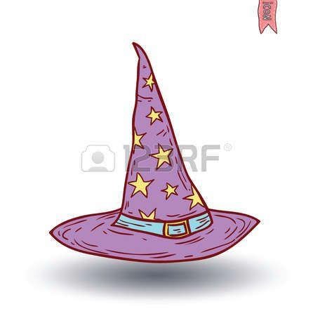 Wizard Hat Cartoon Icon Vector Illustration Photo Vector Illustration Cartoon Icon Illustration