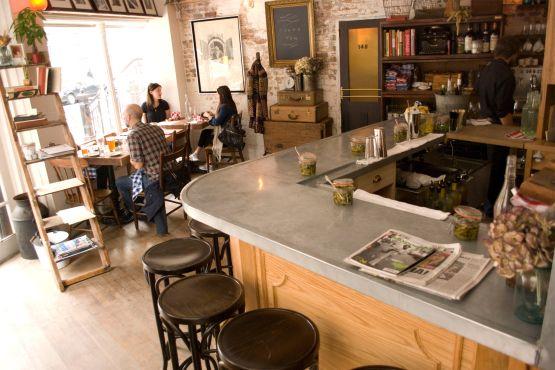 Joseph Leonard 170 Waverly Pl Restaurants Time Out New York Ladders Behind Bar
