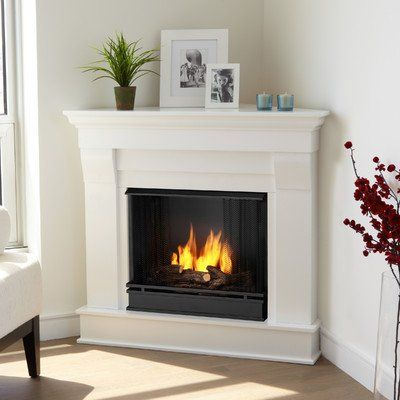 How To Build A Simple Do It Yourself Corner Fireplace Corner Gas Fireplace Corner Fireplace Decor Corner Fireplace Mantels