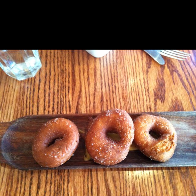 Corner Room, Portland, Maine Donuts At Brunch