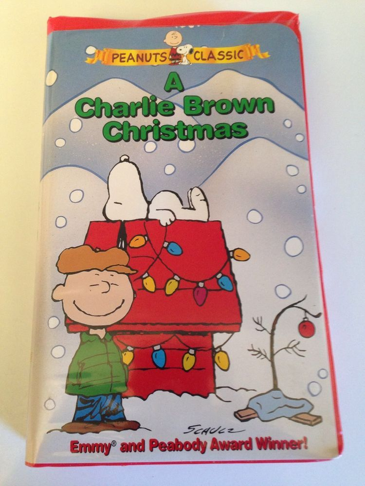 A Charlie Brown Christmas Vhs.A Charlie Brown Christmas Peanuts Classic Vhs 1999