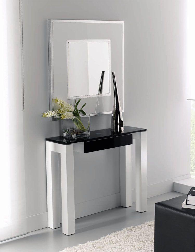 Recibidores modernos consola tamis de zache www - Recibidores minimalistas ...