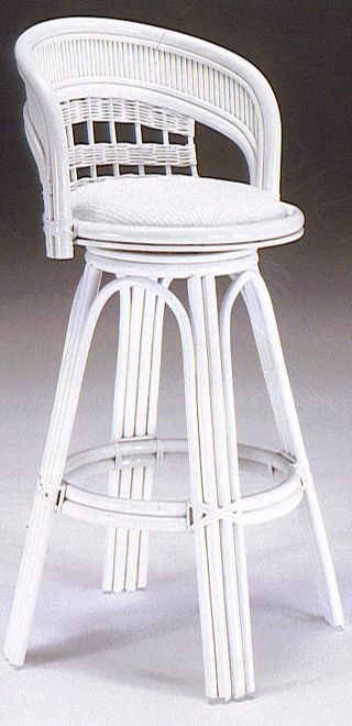 Bermuda Rattan And Wicker Swivel Bar Stool Ber101 30 From