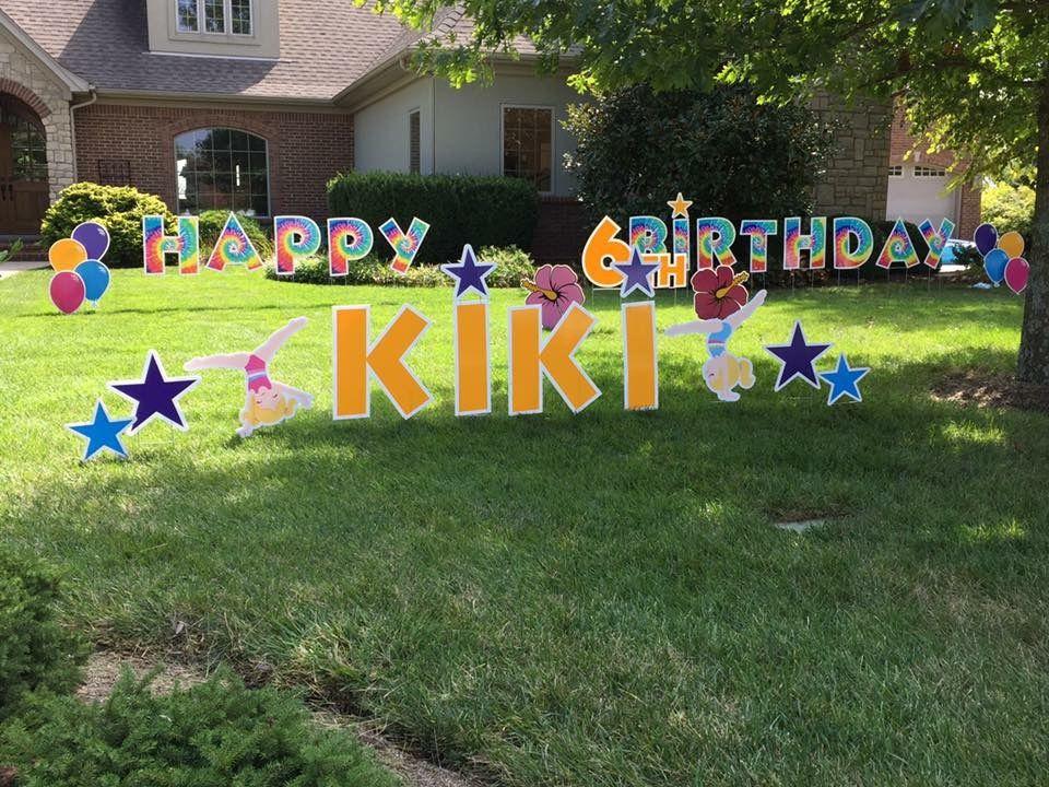 pinbluegrass greetings on yard cards  happy birthday