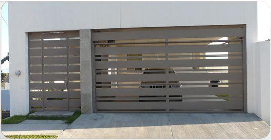 Resultado de imagen para puertas de herreria minimalistas for Puertas de herreria minimalistas