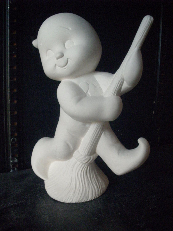 Ghost boy Halloween Decoration Halloween ceramic bisque ready to