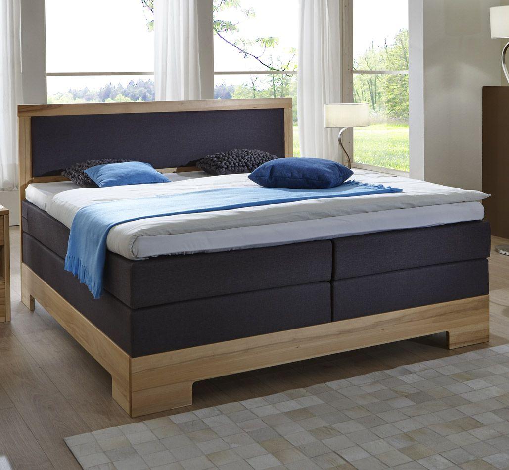 boxspringbett hotelbett bs 5020 mit massivholzrahmen in kernbuche oder wildeiche in 4 groessen lieferbar
