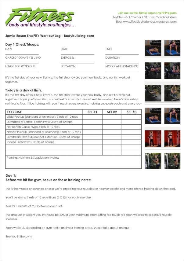 Complete Livefit Trainer  Workout Log Trainers And Workout