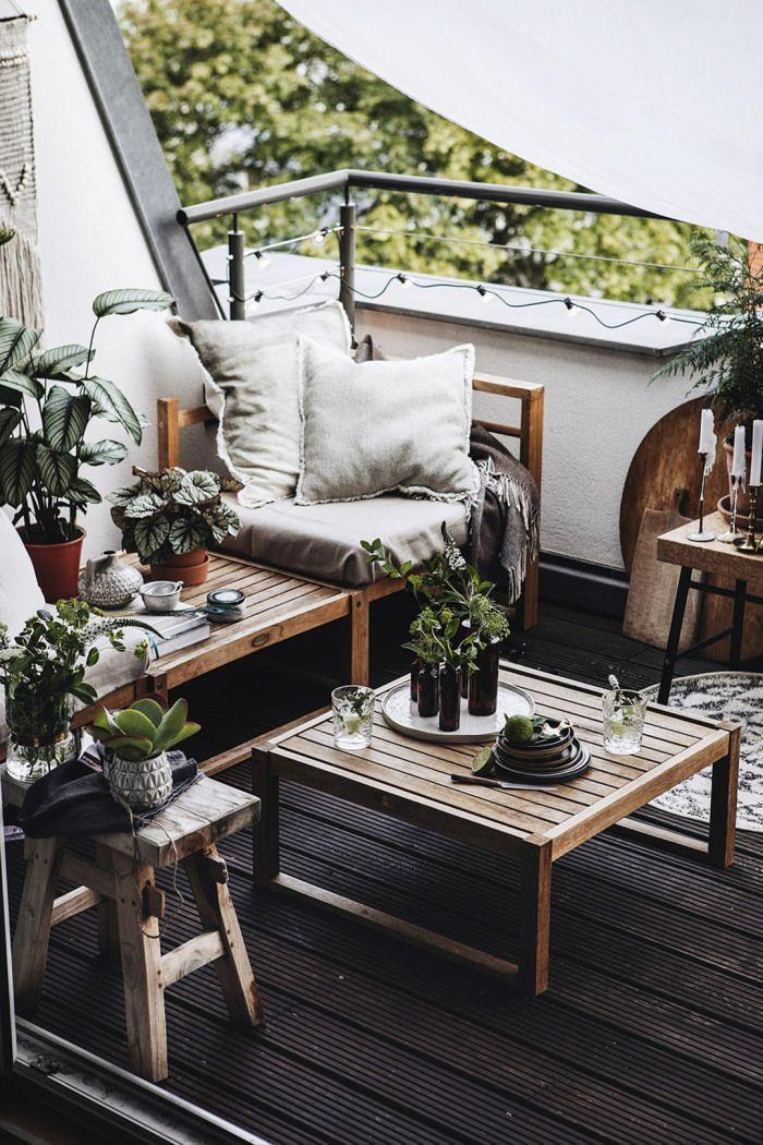 Balkon, Terrasse, Dachterrasse, grüne Terrasse, Ideen Balkon ...