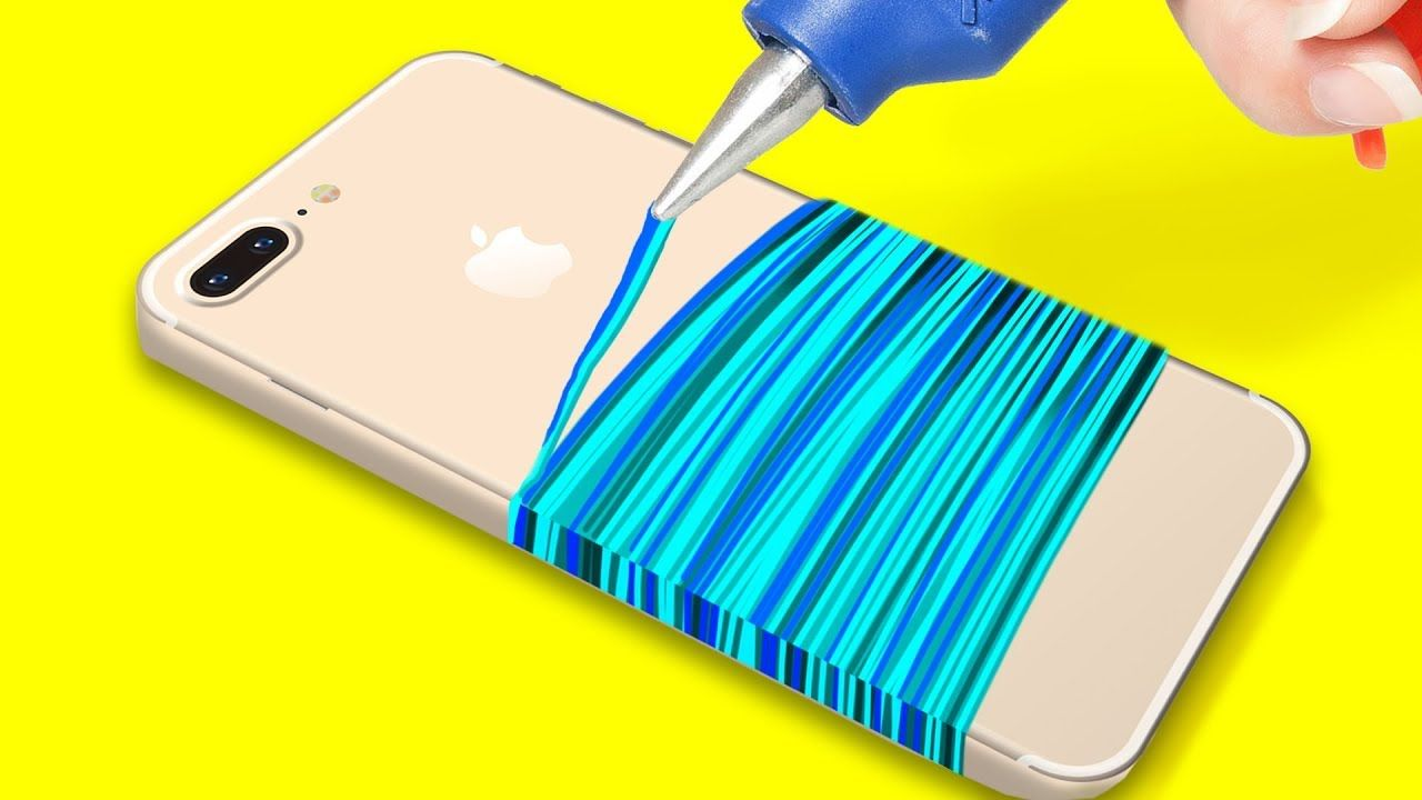 23 Brilliant Phone Hacks Youtube Diy Phone Case Diy Iphone