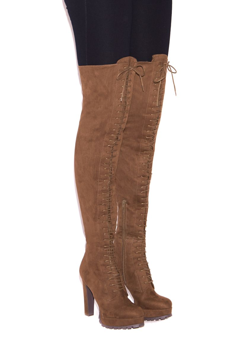 96338754caaff REMI LACE UP BOOT - ShoeDazzle | My Style in 2019 | Shoes, Boots ...