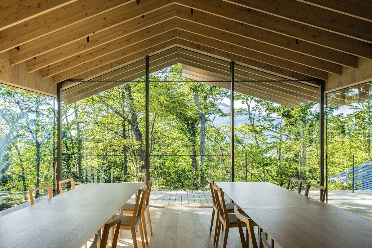 Roof / Birds | Wood Structures | Kengo Kuma、House design ...