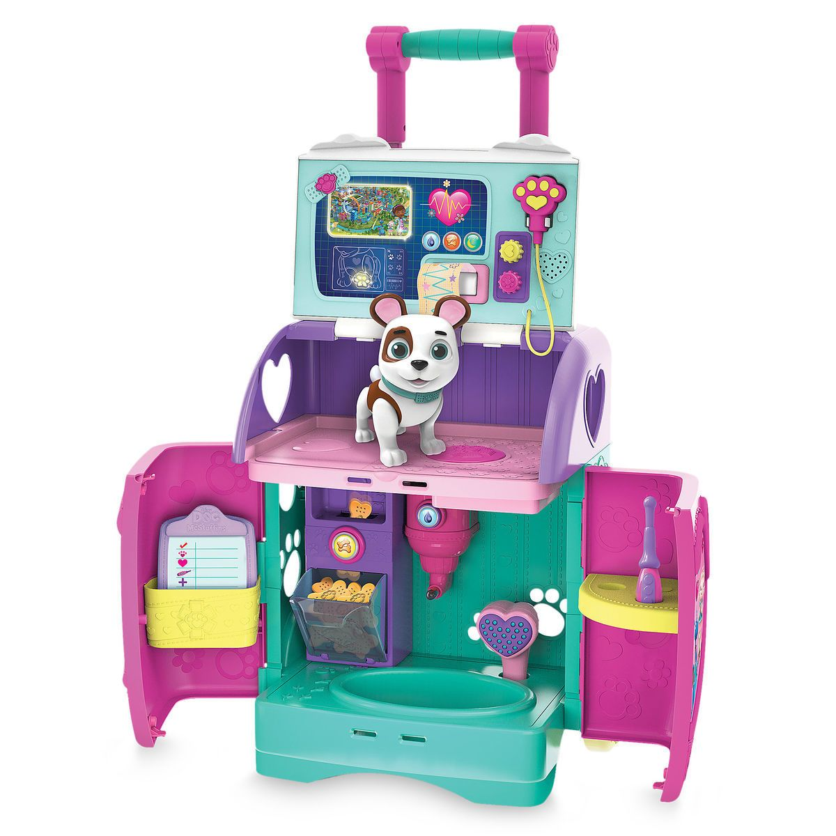 7727af4f7ac Doc McStuffins Pet Rescue Mobile Playset
