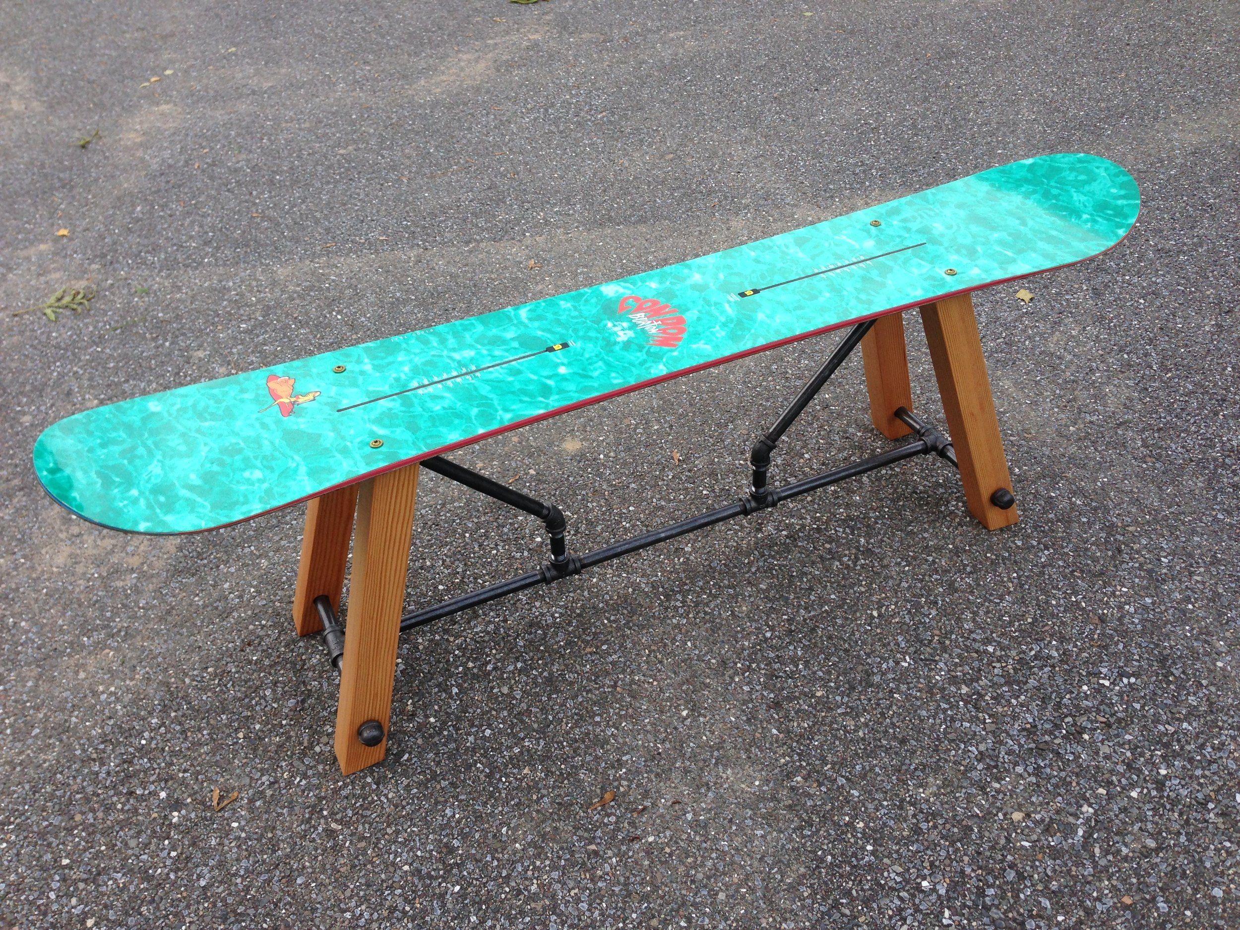 Snowboard Bench Skateboard Furniture House Paint Interior Diy Furniture