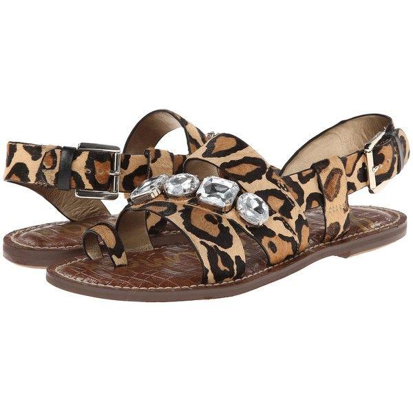 Womens Sandals Sam Edelman Dailey New Nude Leopard