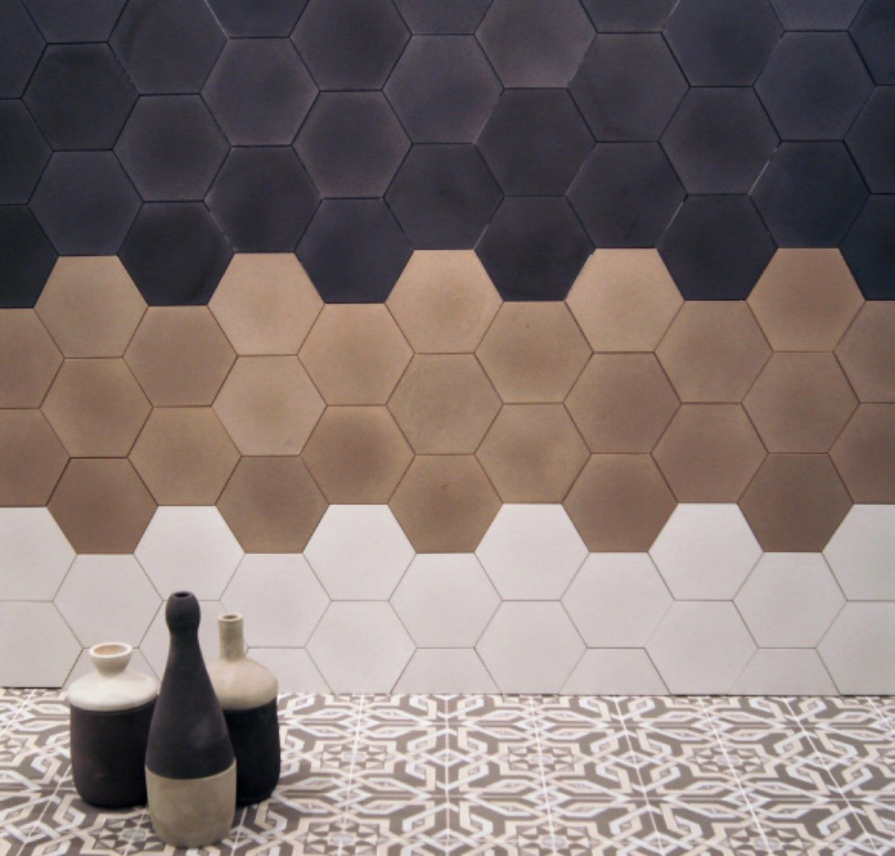 Carreaux De Ciment Hexagonal Carreaux De Ciment Sols En 2019