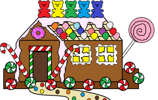 Draw a Gingerbread House