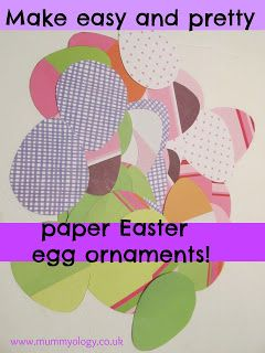 An Easter twist on a classic paper craft {The Usual Mayhem on Mummyology}
