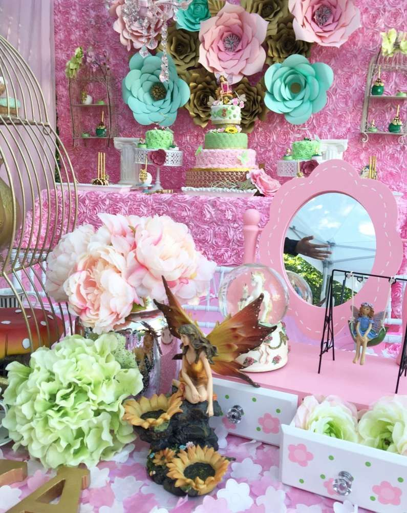 Fairy Tale/Garden Tea Party Birthday Party Ideas   Tea party ...