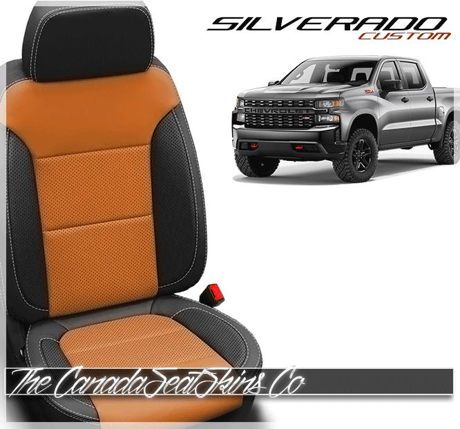 2019 2021 Chevrolet Silverado Custom Leather Upholstery Chevrolet Silverado Custom Silverado Custom Leather