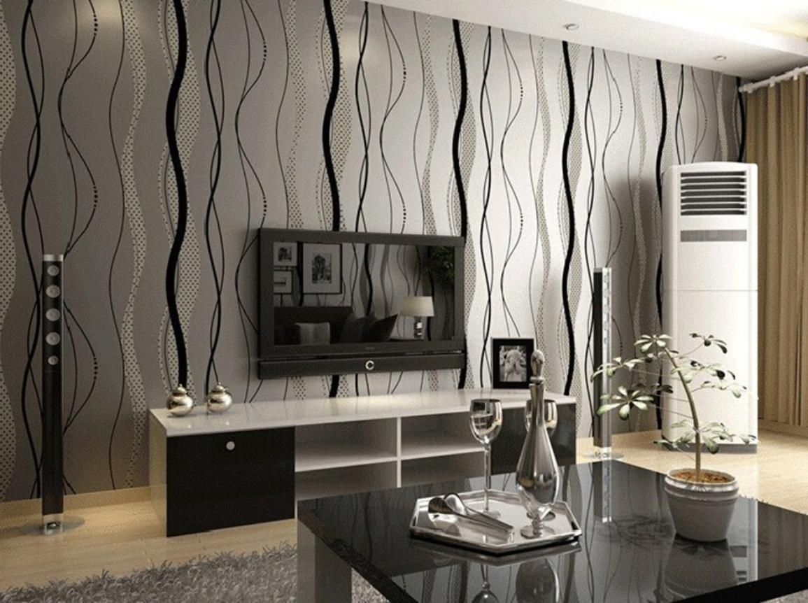 Amazing Modern Wallpaper For Interior Walls Striped Wallp