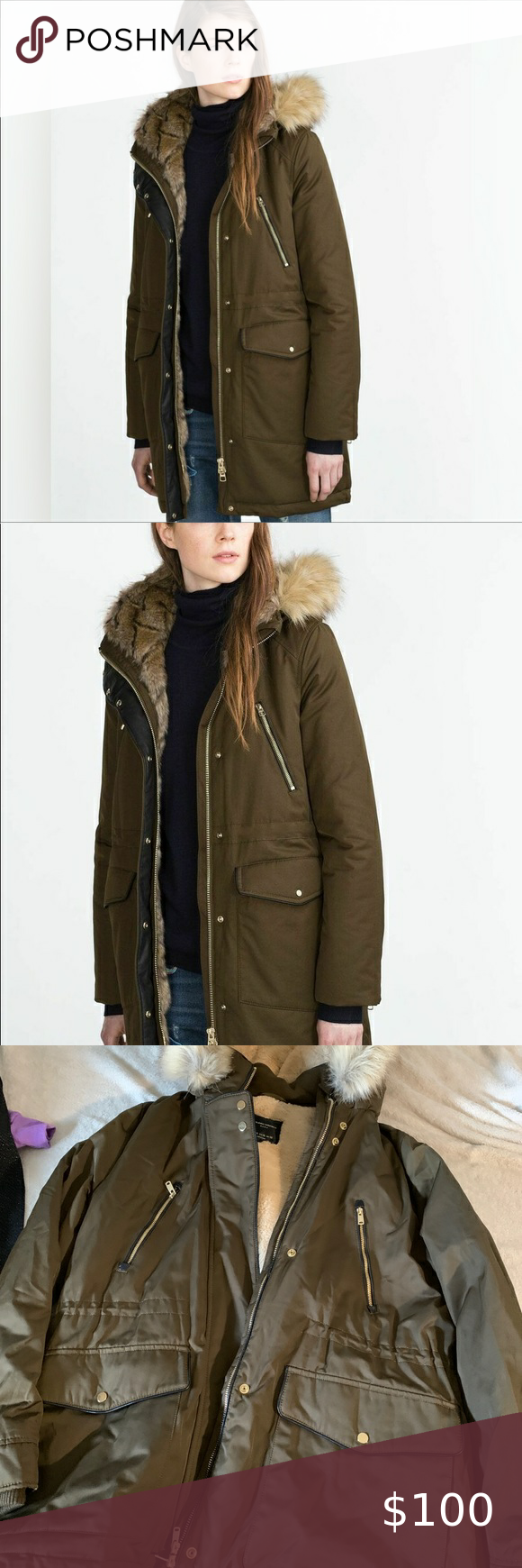 Zara Trafaluc Outerwear Clothes Design Zara Jackets For Women [ 1740 x 580 Pixel ]