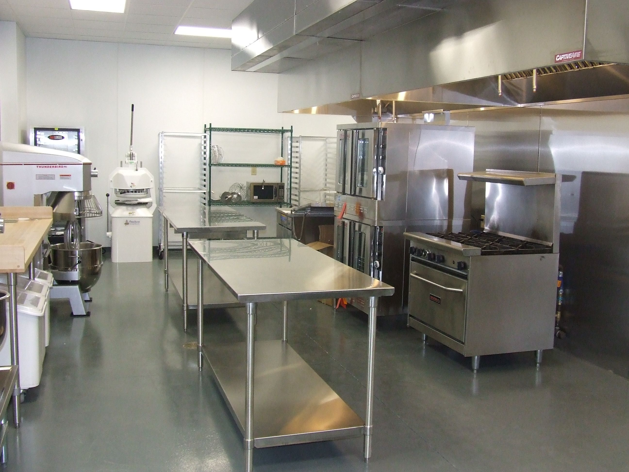Home bakery is a floor plan for a 1200 square foot for Small commercial kitchen layout ideas
