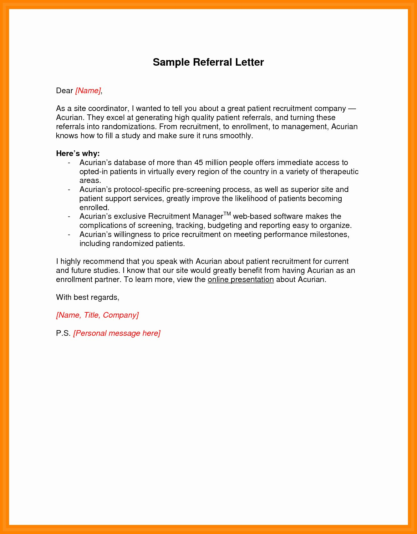 25 medical referral letter template in 2020 resume format commerce graduates key account manager examples entry level business management