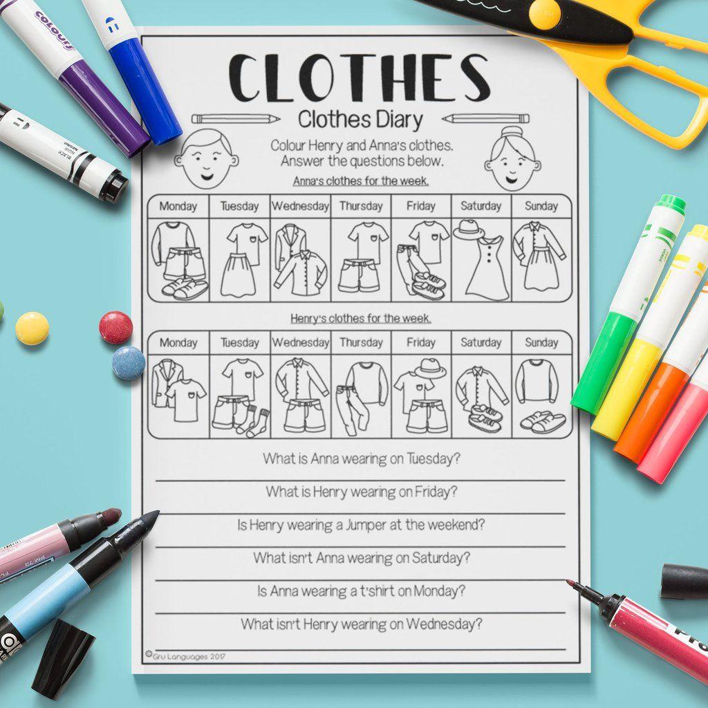 Clothes Clothes Diary